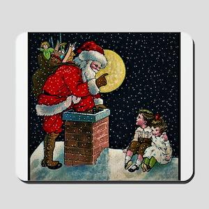 Waiting for Santa Mousepad