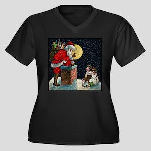 Waiting for Santa Plus Size T-Shirt