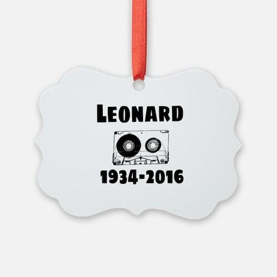 Leonard Ornament