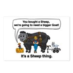 I Bought A Sheep Postcards (Package of 8)