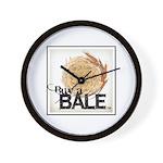 Buy A Bale (Border) Wall Clock