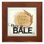 Buy A Bale (Border) Framed Tile