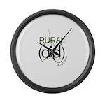 Rural Aid Large Wall Clock