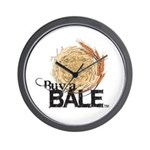 Buy A Bale Wall Clock
