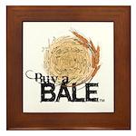 Buy A Bale Framed Tile