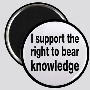 The Right To Bear Knowledge Magnet