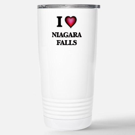 I love Niagara Falls Stainless Steel Travel Mug