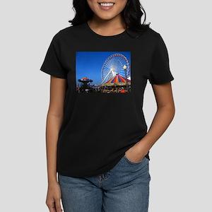 Navy Pier, Chicago Women's Dark T-Shirt