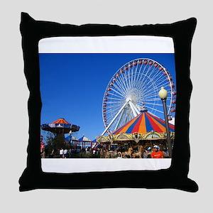 Navy Pier, Chicago Throw Pillow