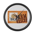 Farm Rescue Large Wall Clock