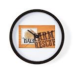 Farm Rescue Wall Clock