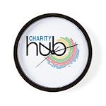 Charity Hub Wall Clock