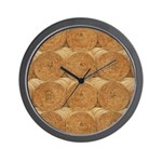 Hay Bale Wall Clock