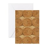 Hay Bale Greeting Cards (Pk of 10)