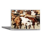 A Herd of Cattle Laptop Skins