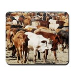 A Herd of Cattle Mousepad