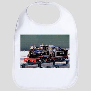 Miniature steam train engine, Amelia Baby Bib