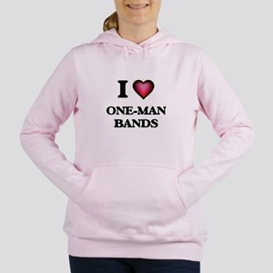 I love One-Man Bands Sweatshirt