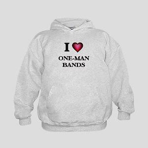 I love One-Man Bands Sweatshirt