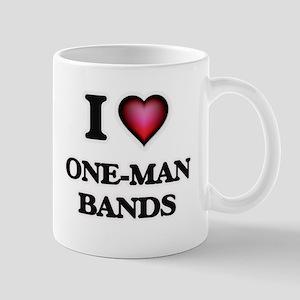 I love One-Man Bands Mugs