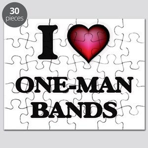 I love One-Man Bands Puzzle