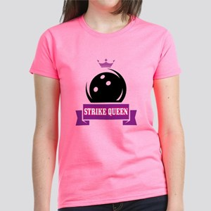 Bowling Strike Queen Women's Dark T-Shirt
