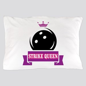 Bowling Strike Queen Pillow Case