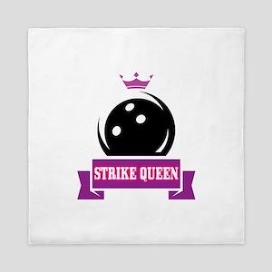 Bowling Strike Queen Queen Duvet
