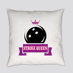 Bowling Strike Queen Everyday Pillow