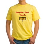real estate Yellow T-Shirt