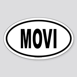 MOVI Oval Sticker