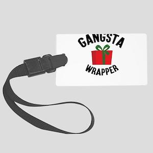 Gangsta Wrapper Luggage Tag