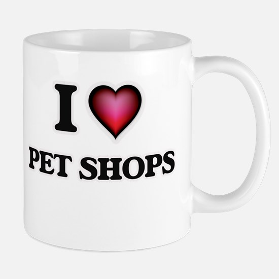 I love Pet Shops Mugs