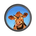 Selfie Cow Wall Clock