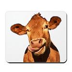 Selfie Cow (Transparent) Mousepad