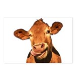 Selfie Cow (Transparent) Postcards (Package of 8)