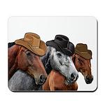 Cowboy Horses Mousepad