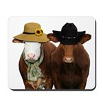Country Couple Mousepad