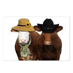Country Couple Postcards (Package of 8)
