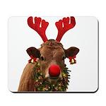 Christmas Cow Mousepad