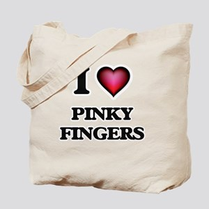 I love Pinky Fingers Tote Bag
