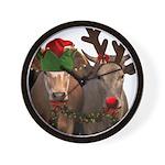 Santa & Friends Wall Clock