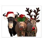 Santa & Friends Small Poster