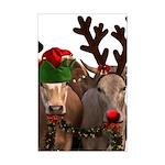 Santa & Friends Mini Poster Print