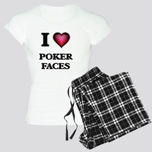 I love Poker Faces Pajamas