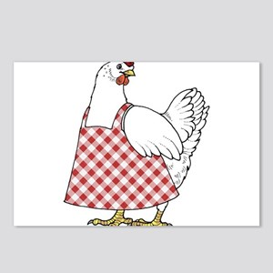 Winner Winner Chicken Din Postcards (Package of 8)