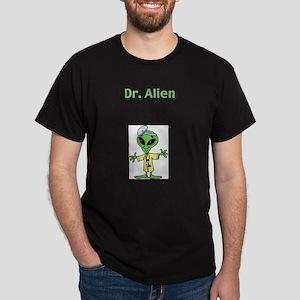 Dr. Alien Ash Grey T-Shirt