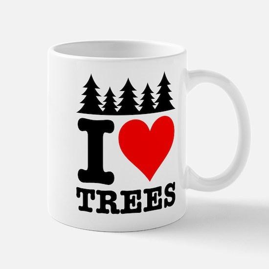 I Heart Trees Mug