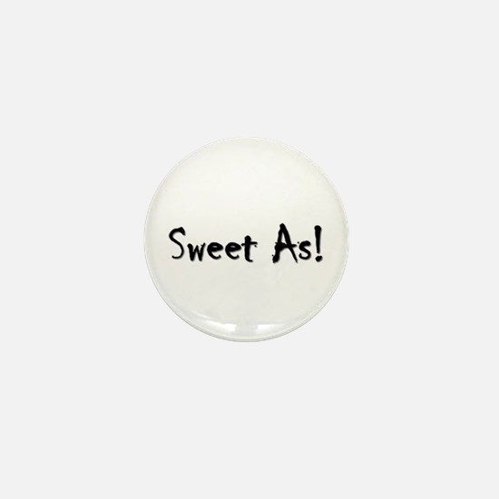 Sweet As 3 Mini Button