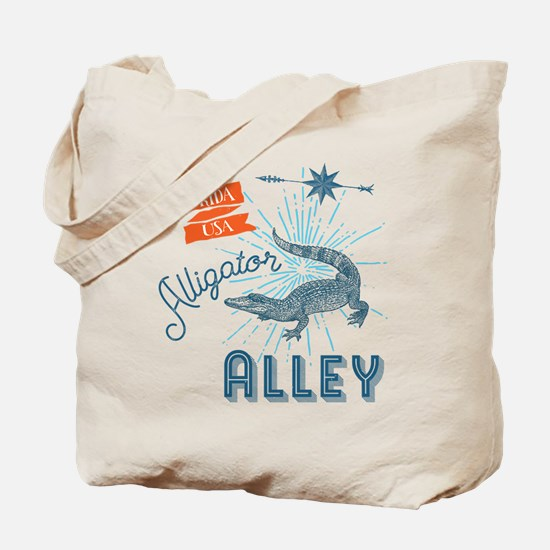 Alligator Alley Florida Everglades Tote Bag